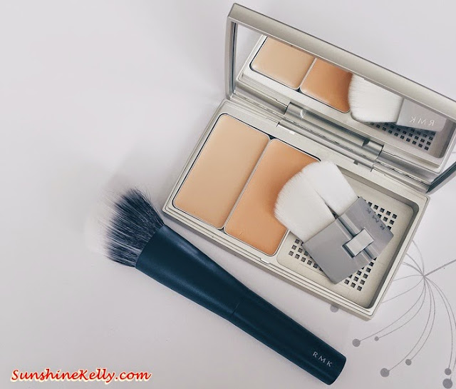 Beauty Review, RMK Casual Solid Foundation, RMK Casual Solid Foundation Brush