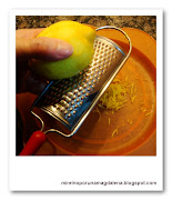 Galleta liz - Rallar limon