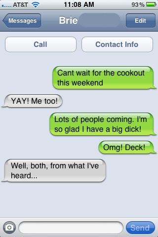Funny iPhone Fails and Autocorrect texts