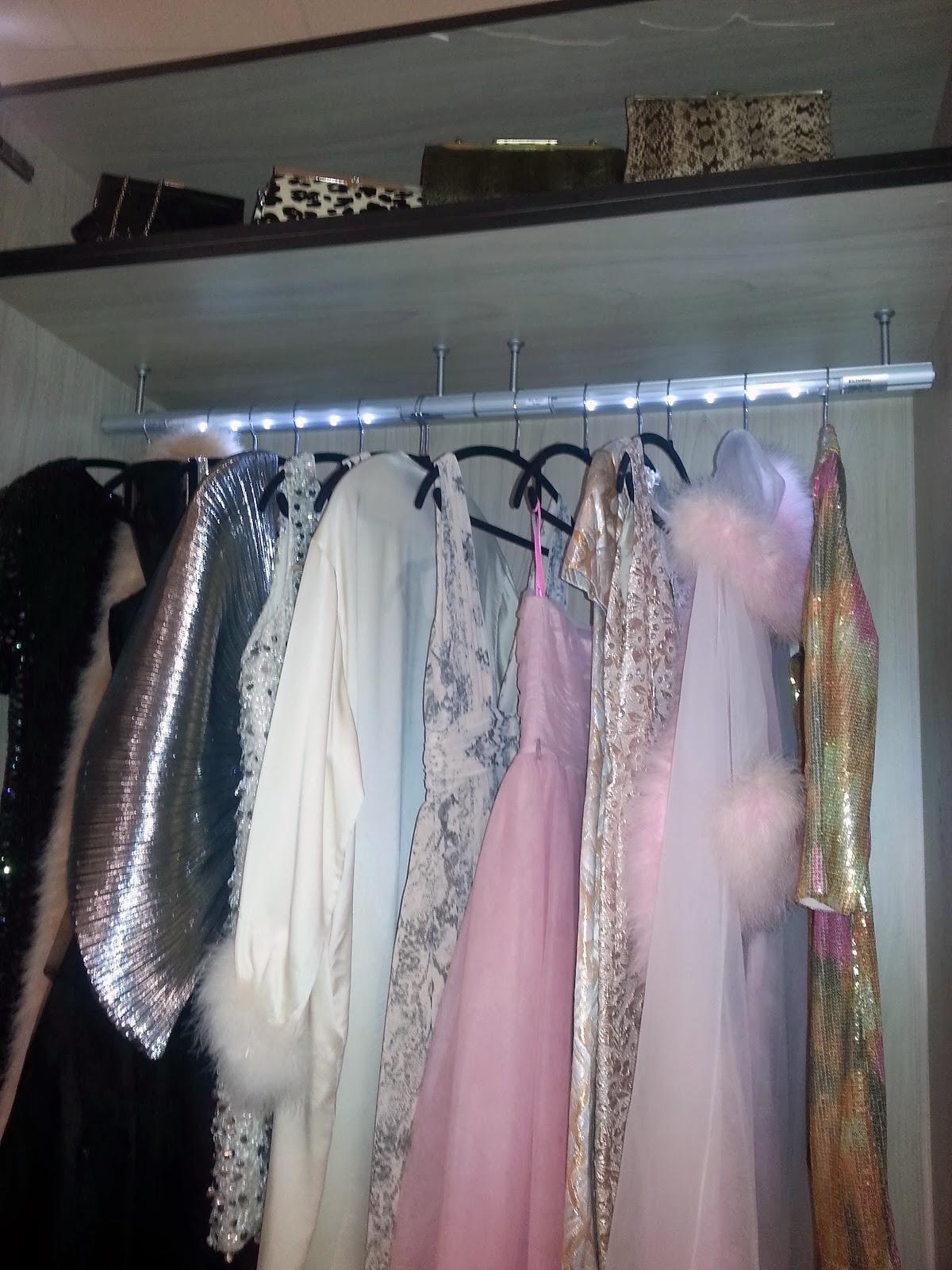 Interior Design Show lit closet