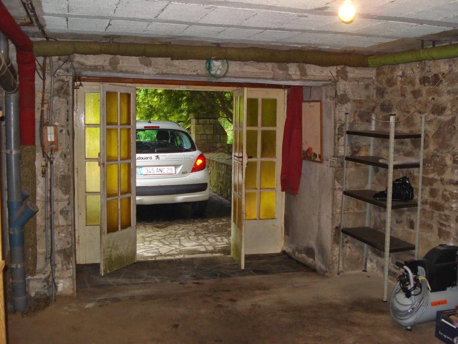 AMENAGEMENT D\u0027UN GARAGE EN SALON