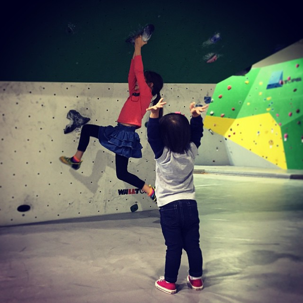 You Might Be a Climber Mom If...
