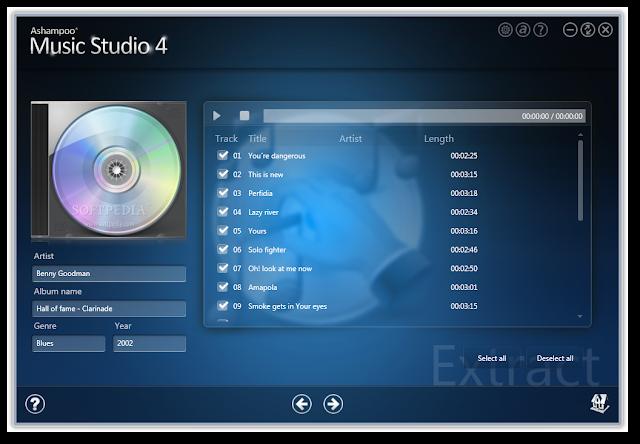 Ashampoo music studio software updates nsane for Recording studio design software