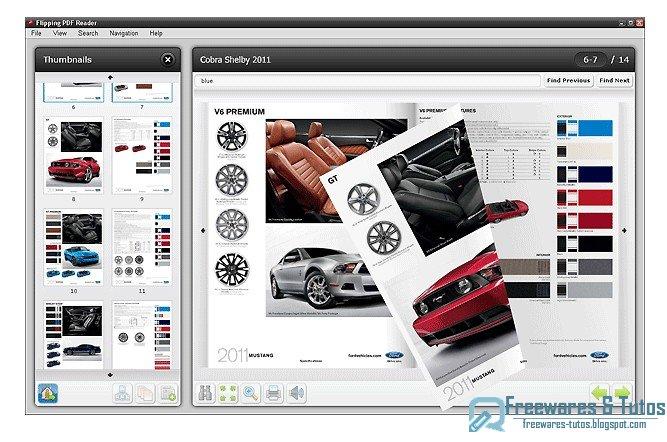 flipping pdf reader   un logiciel gratuit pour feuilleter les fichiers pdf comme dans un vrai