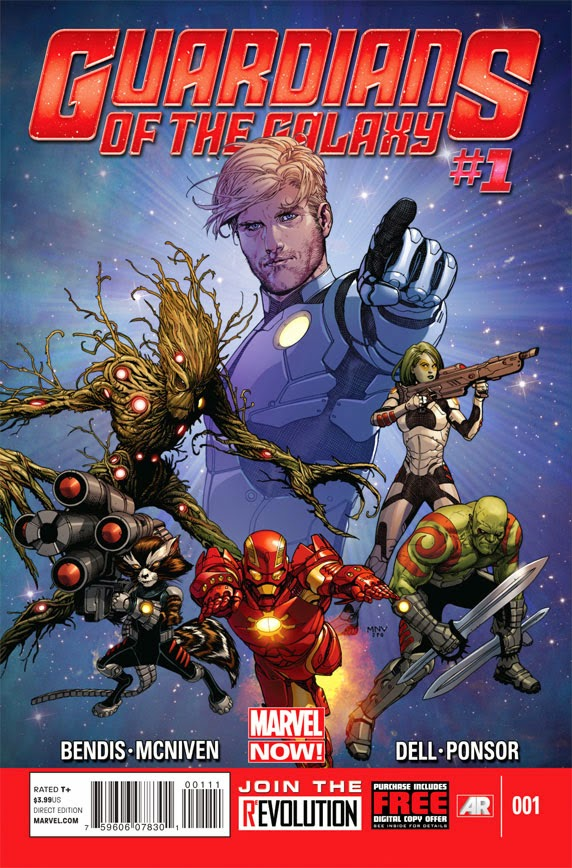 Los Guardianes de la Galaxia en el Universo Marvel Now