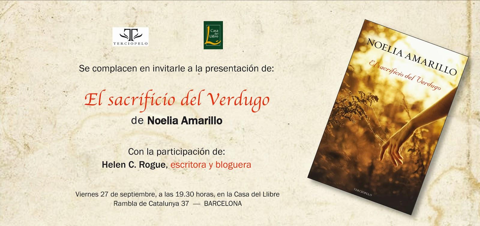 Las cosas de noelia amarillo septiembre 2013 - Casa del libro barcelona rambla catalunya ...