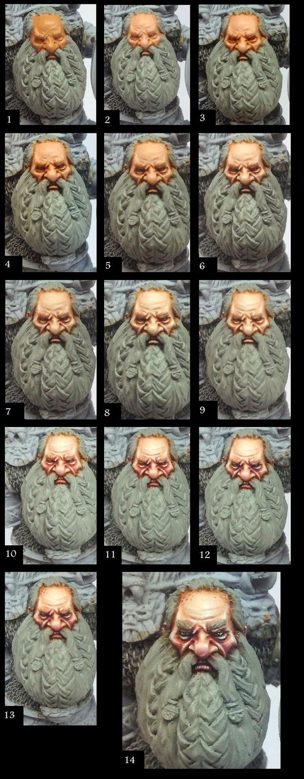 Razza Mini Painting: Dwarf Skin Tutorial