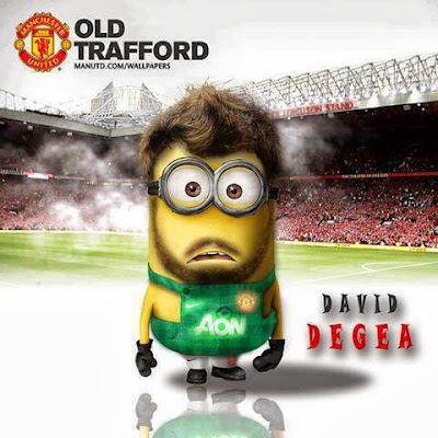 Minion de David Degea