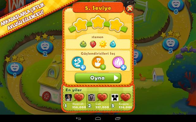 Farm Heroes Saga Android Apk Oyun resimi 3