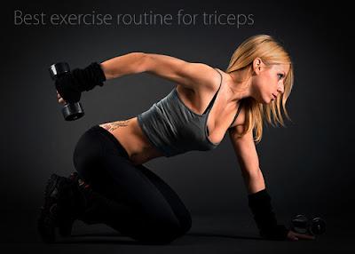 Latihan Rutin untuk Trisep