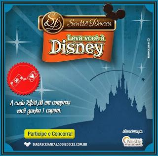"""Promoção """"Sodiê Doces leva você à Disney"""""""
