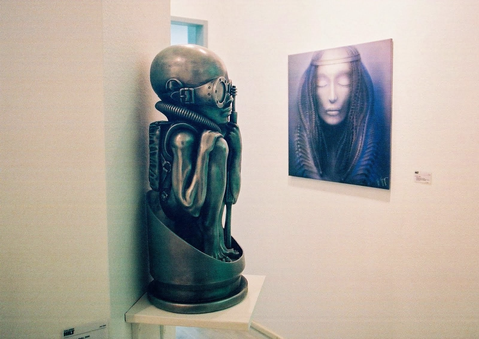 HR Giger in Basel 2007