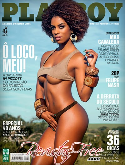 Ivi Pizzott - Revista Playboy - Maio 2015