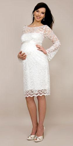 Fcetol: Vestidos de boda para embarazadas