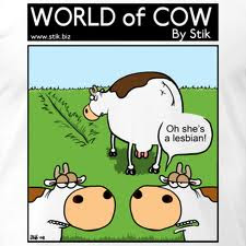 A big Cows shout out to the best cartoonist EVER!