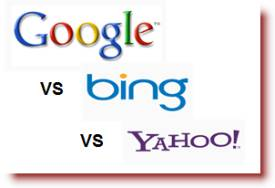 Google Searches Drop while Bing Searches Rise