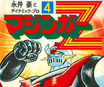 Mazinga Z manga