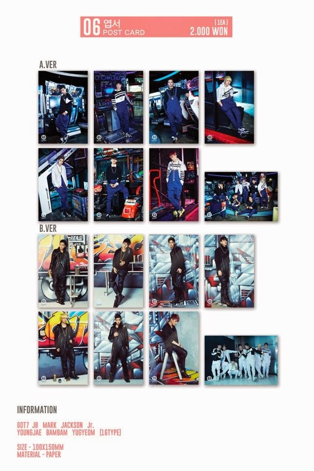 kedai kpop my   merchandise  got7 - popup store limited goods