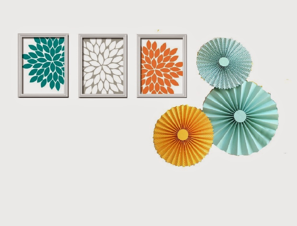 how to decorate with paper pinwheels