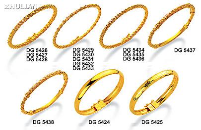EMAS ZHULIAN Perhiasan Dilapisi Emas 24K Gold Plated 24K