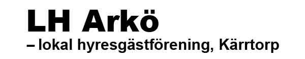 LH Arkö, Kärrtorp - lokal hyresgästförening