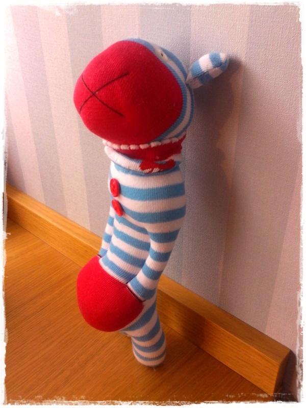 El taller de natipatch calcetines for Munecos con calcetines
