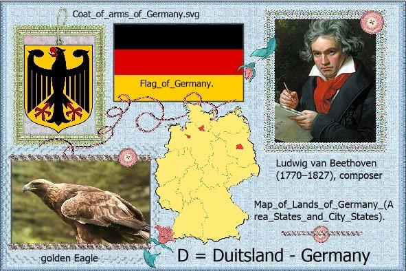 D = Duitsland - Germany lo 2