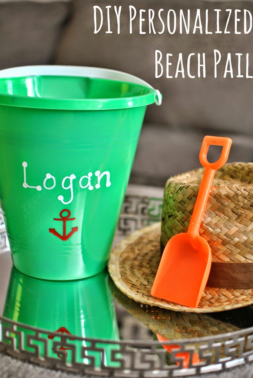 Personalized Beach Pails How to