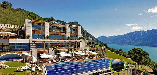 Lefay Resort & Spa, Lake Garda, Italia