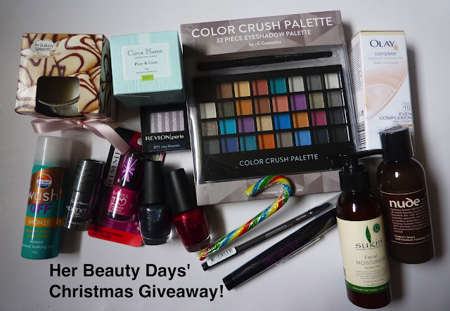Her Beauty Days Christmas Giveaway!