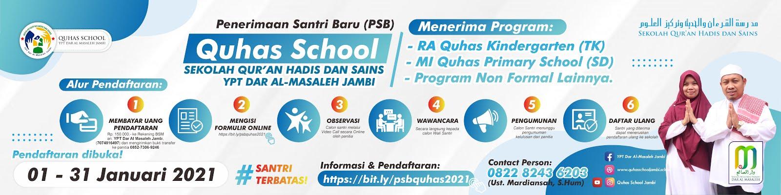 Quhas School Jambi