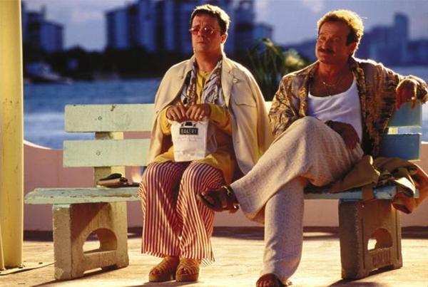 Robin Williamsn en Una jaula de grillos (1996)