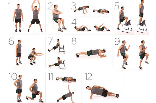 Entrenamiento personal optativa ef ejercicio en casa - Material de gimnasio para casa ...
