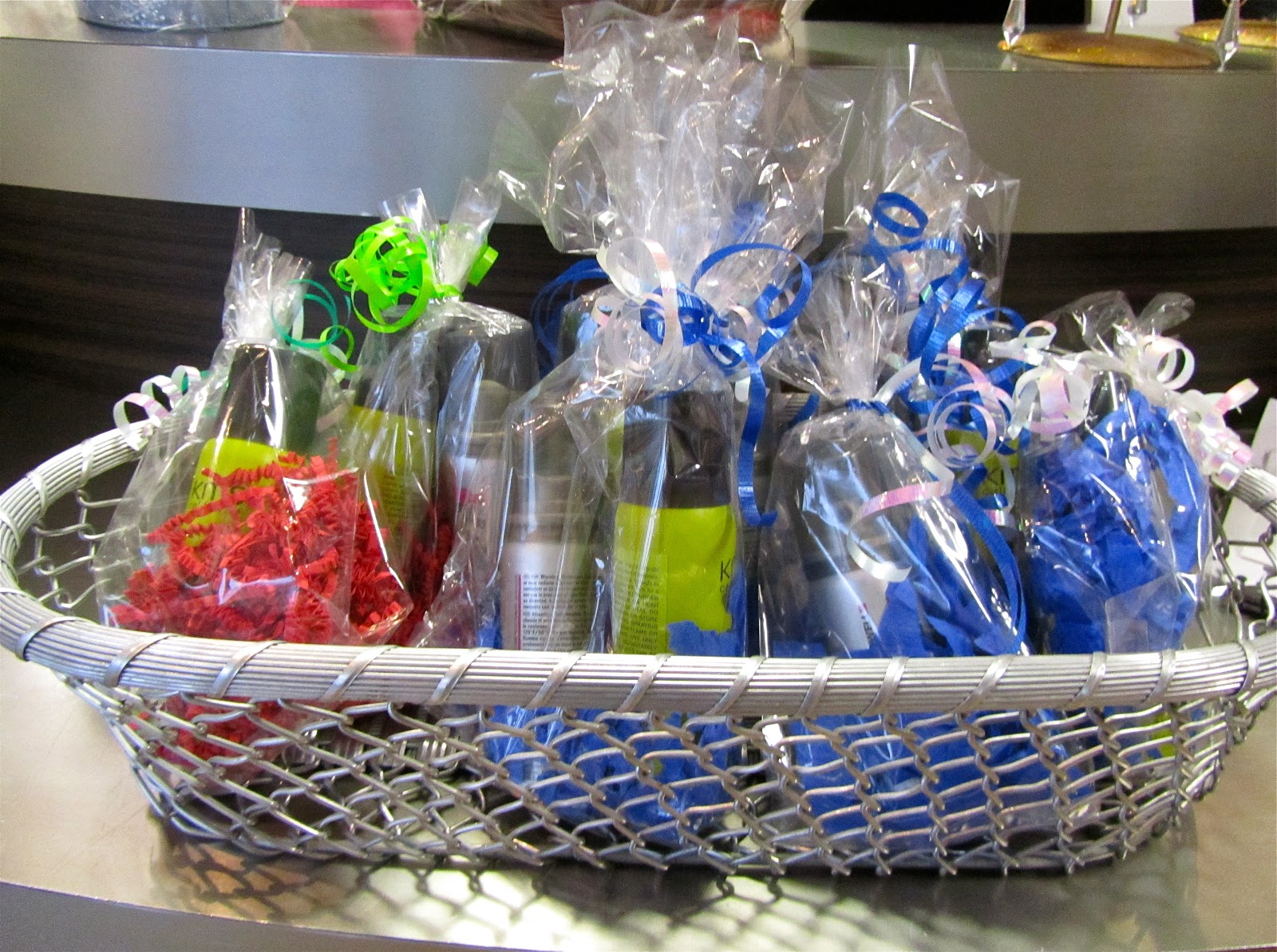 We can even customize the basket to your favorite hair products and include some of fun things like nail polish a gift ... & Head Rush Salon: Hair Accessory Gift Ideas