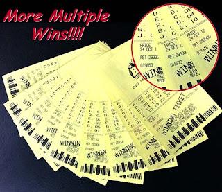 Pick winning lotto number