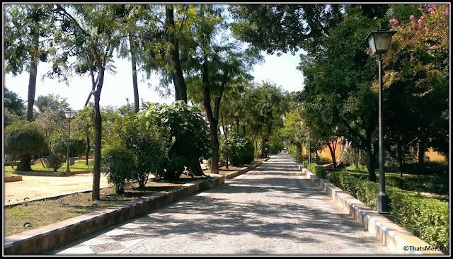 Séville Andalousie jardins de Murillo, paseo de Catalina de Ribera