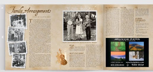 article in High Cpuntry Press about The Sheets Family Band