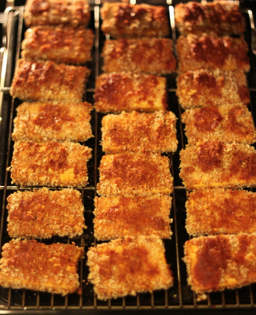 Baked Barbecue Panko Tofu Recipe