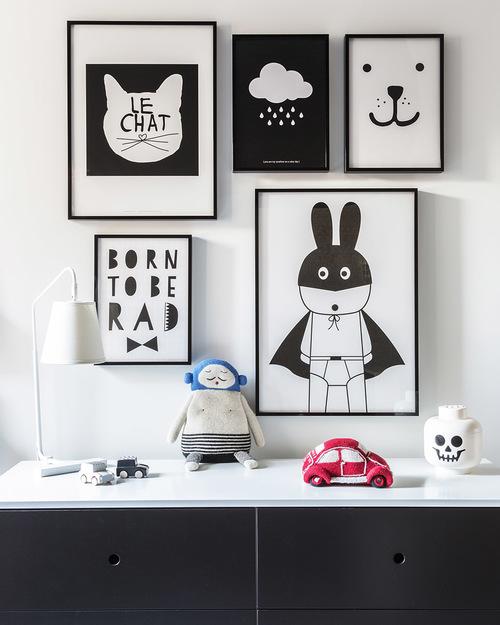 Inspiración para una habitación infantil