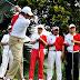 Aksi Najib Razak - Golf Persahabatan Malaysia China