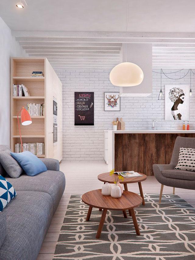 Desde rusia con amor la casa casi perfecta decoratualma - Deco interieur huis model ...