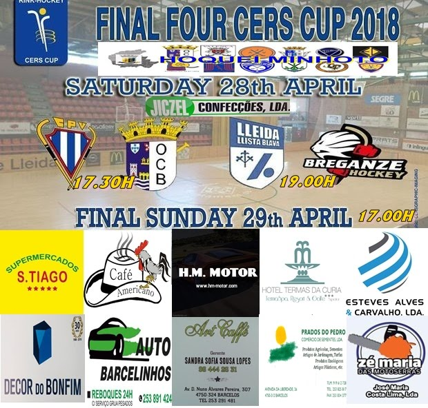 Final Four da Taça Cers