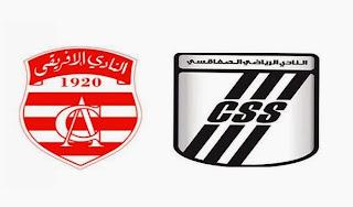 La vidéo du match Club Africain 0 - 2 Club Sfaxien # Tous les buts