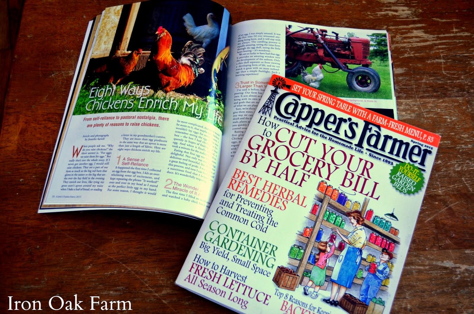 iron oak farm publications