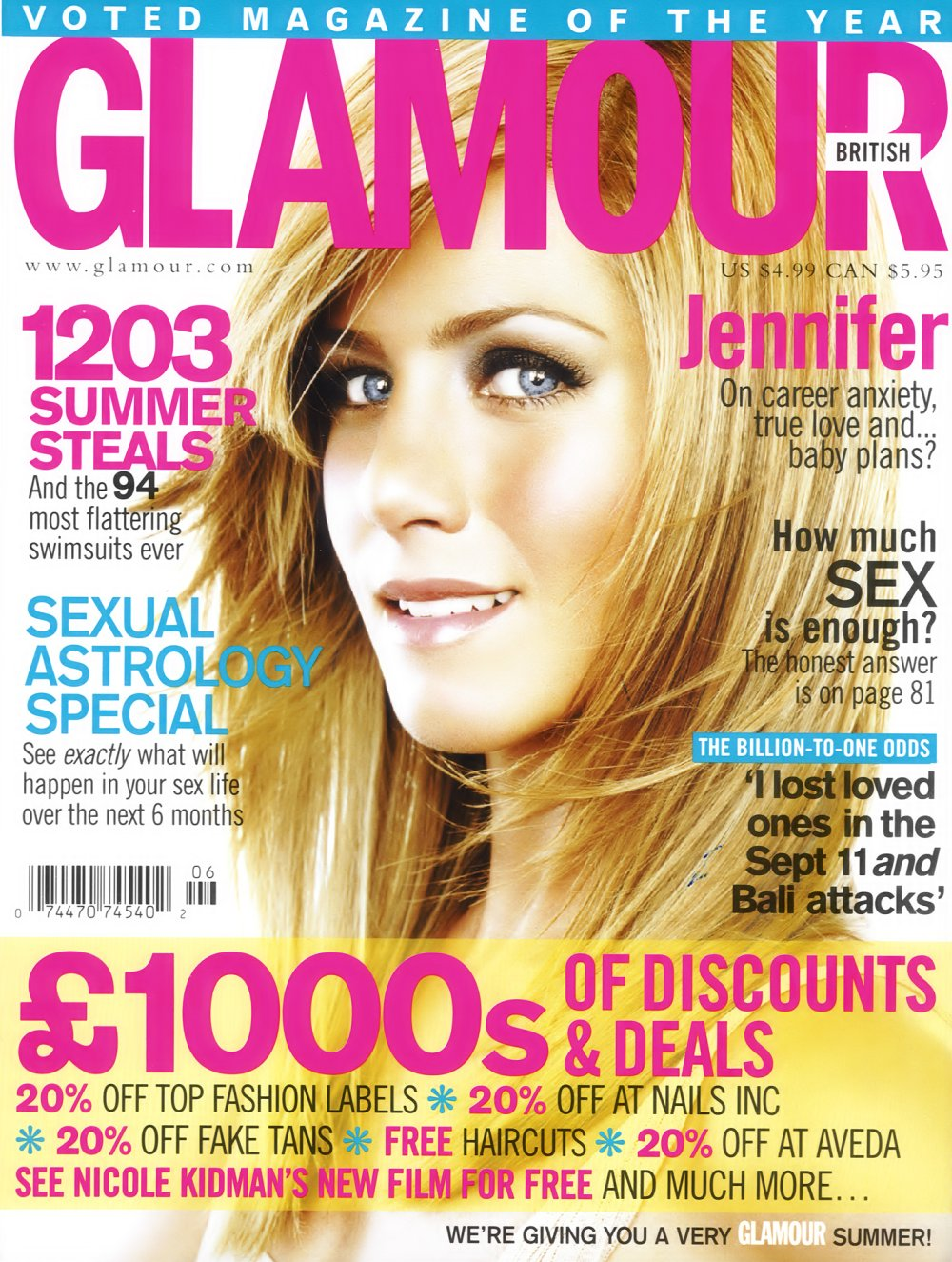 Glamour mag subscription