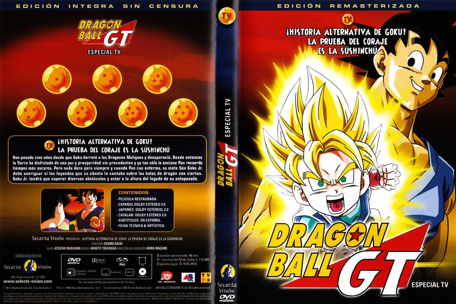 ... : Caratulas DVD Dragon Ball GT Las Peliculas Selecta Vision V2