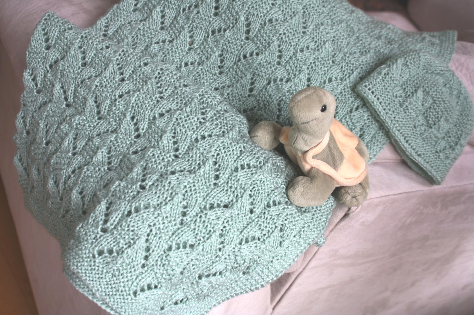 All Knitted Lace: A year of Babies (and baby blankets)