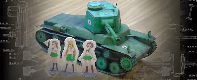 Папье-маше танк своими руками