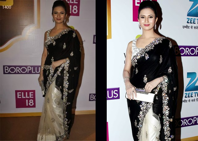 Bollywood Designer Black Heavy work Saree