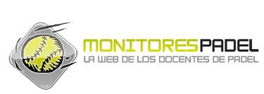 Banner de la web de pádel monitorespadel.com, la web de los docentes del pádel